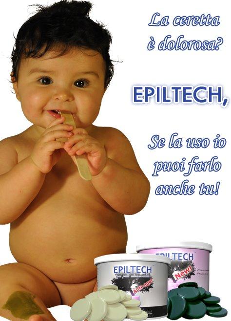 ceretta indolore delicata epiltech
