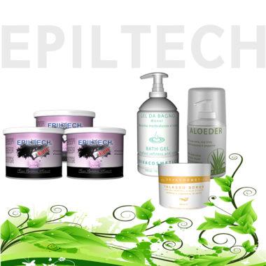 offerta prodotti epiltech pre e post depilazione